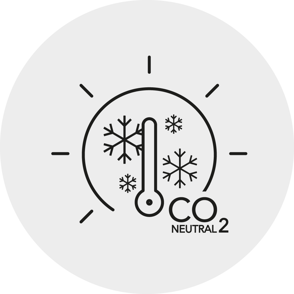 CO2 neutrales Heizen Icon