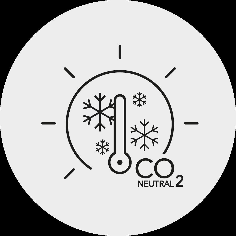 CO2 neutrales Heizen Icon