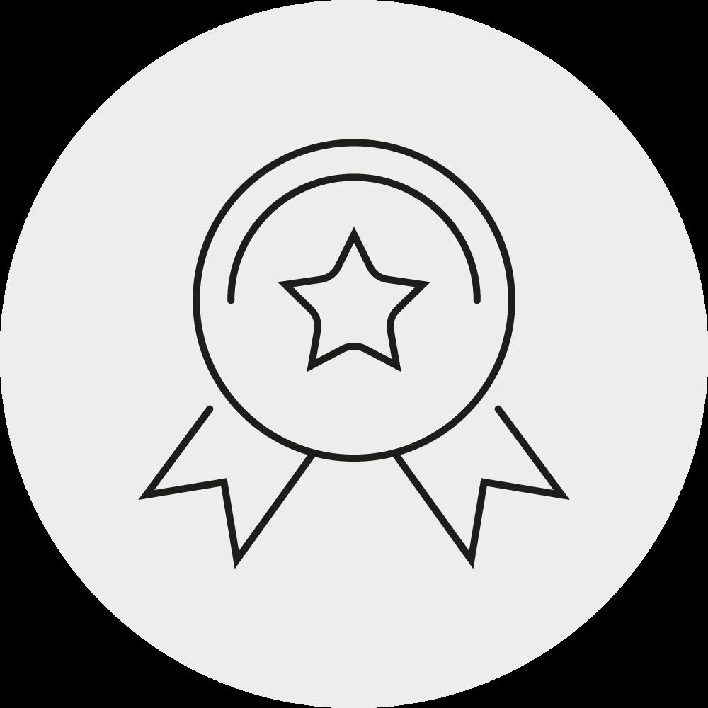 Icon hohe Kundenzufriedenheit