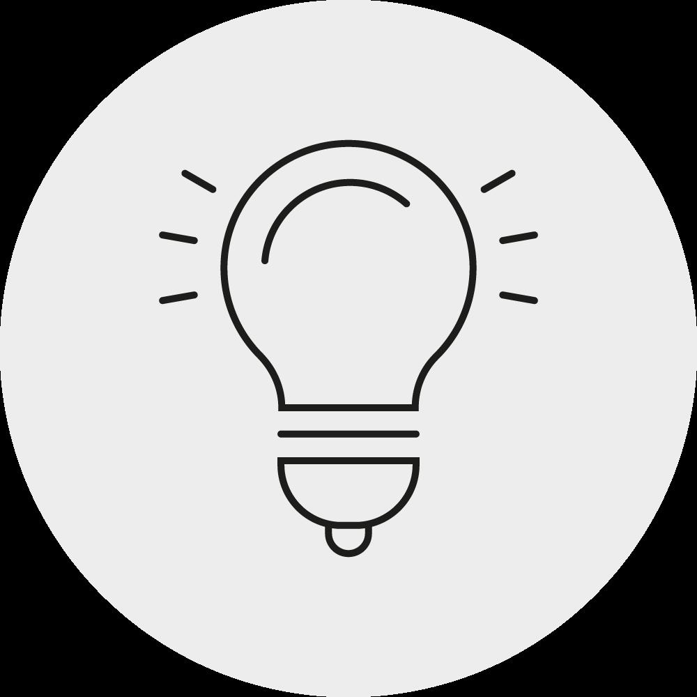 Innovatives Produktprotfolio Icon