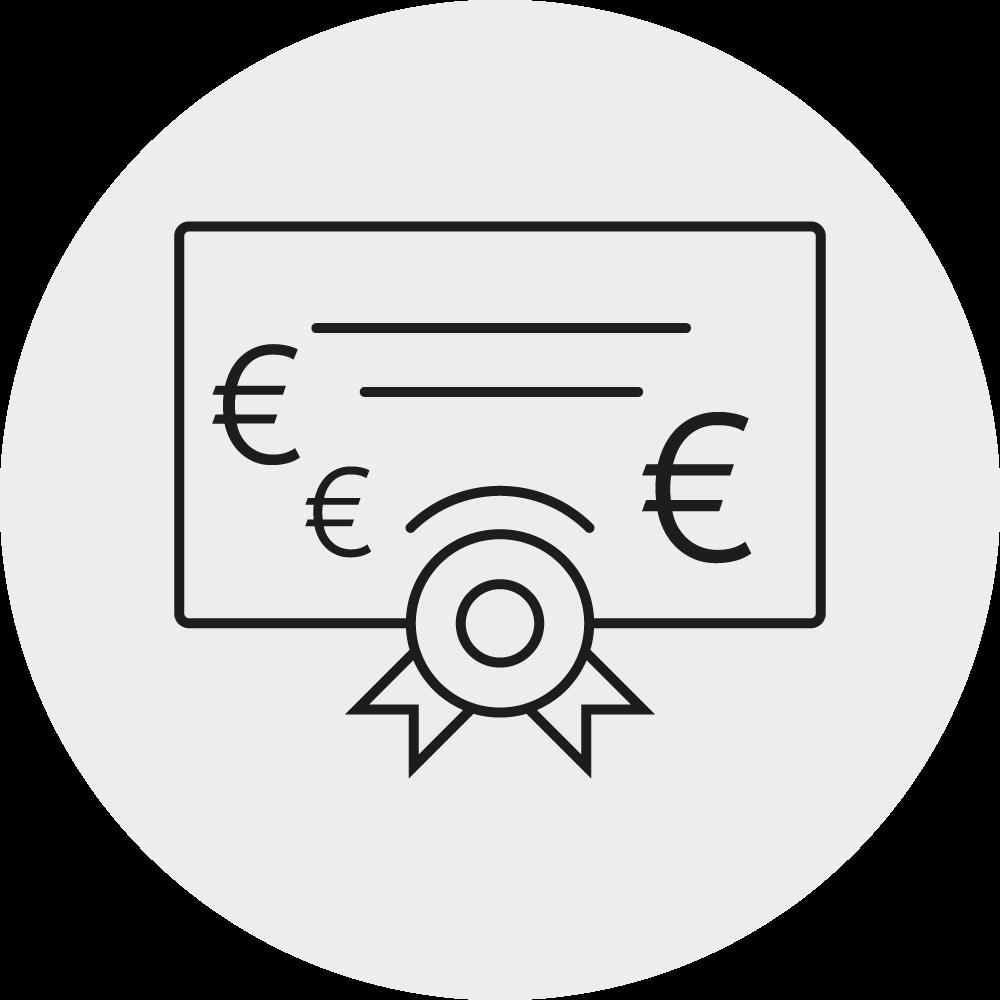 Leistungsgerechte Bezahlung Icon