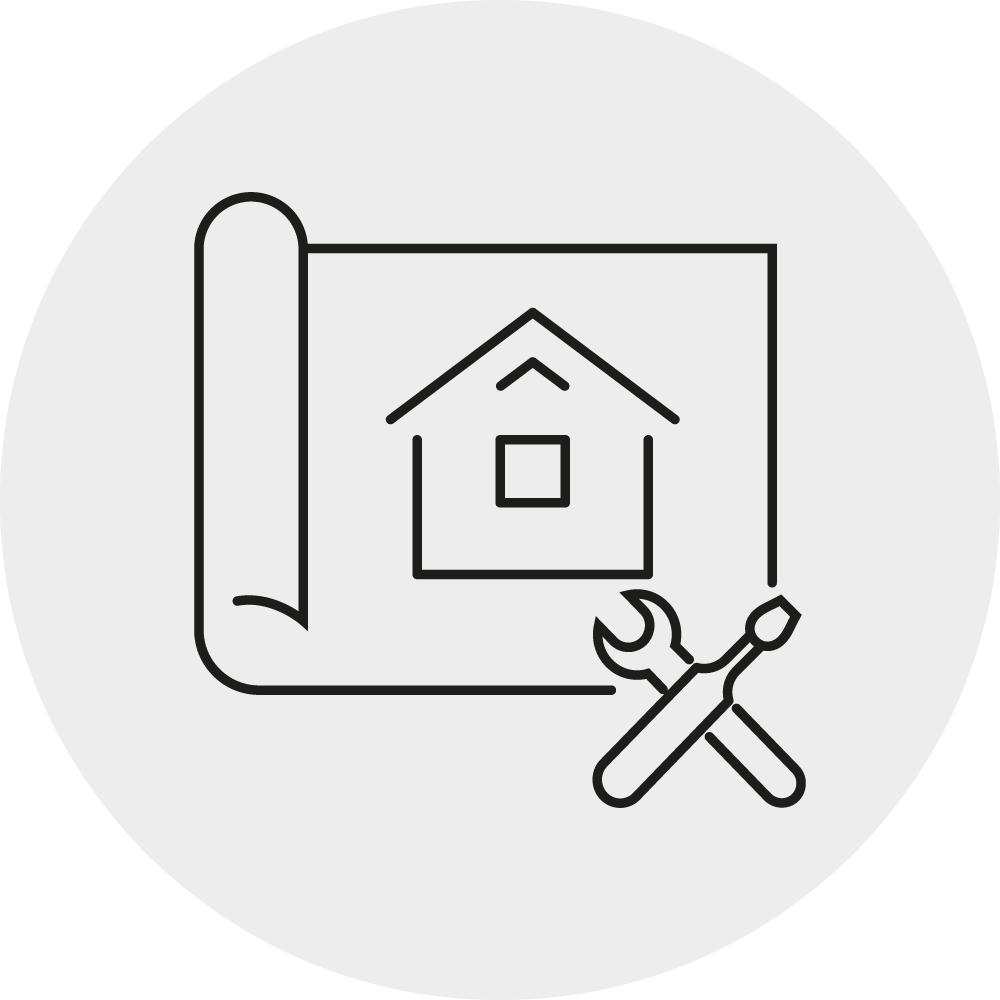 Icon Sanierung