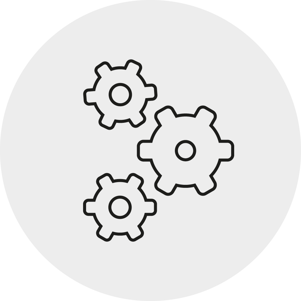 Icon unkomplizierte Montage