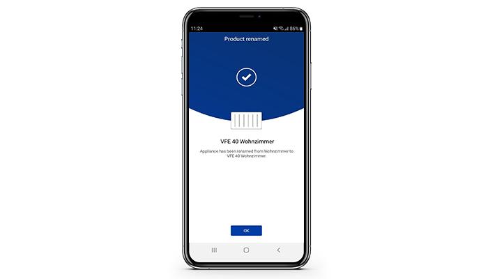 Installations-App VFE von Dimplex